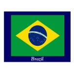 Flag of Brazil Postcard