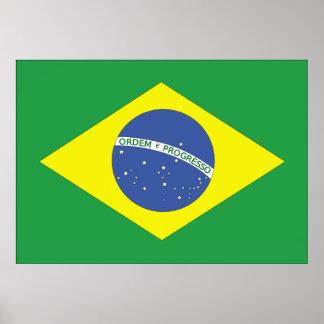 Flag of Brazil Print