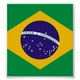 Flag of Brazil Posters
