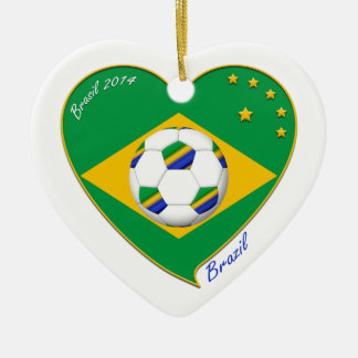 Flag of BRAZIL SOCCER of champions of the world