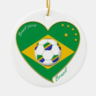 Flag of BRAZIL SOCCER of the world national team