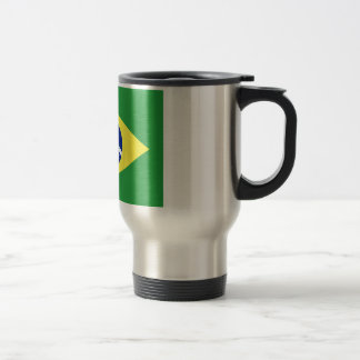 Flag of Brazil Travel Mug