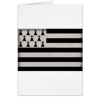 Flag of Brittany Card