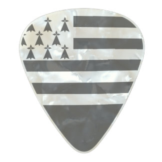 Flag of Brittany Guitar Picks