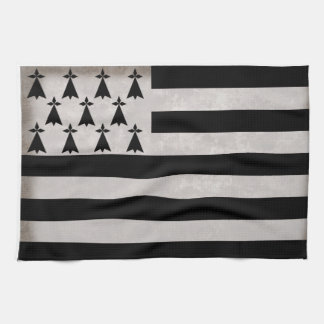 Flag of Brittany Tea Towel