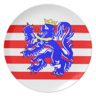 Flag of Bruges Plate