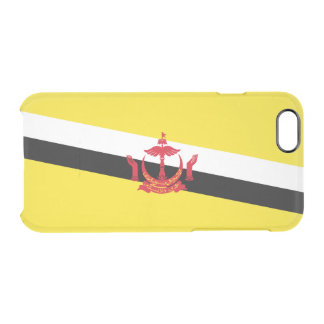 Flag of Brunei Clear iPhone Case