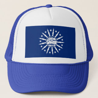 Flag of Buffalo, New York Trucker Hat