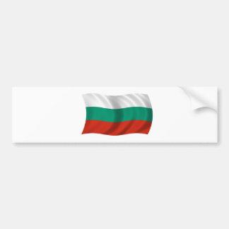 Flag of Bulgaria Car Bumper Sticker