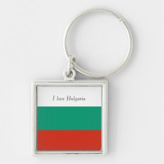 Flag of Bulgaria or Bulgarian Key Ring