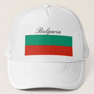 Flag of Bulgaria or Bulgarian Trucker Hat