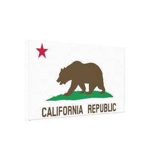 Flag of California Gallery Wrap Canvas