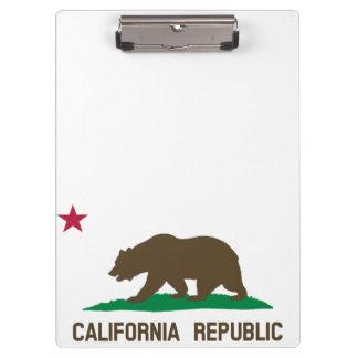 Flag of California Clipboard