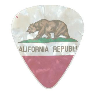 Flag of California Guitar Picks