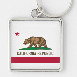 Flag of California Key Chain