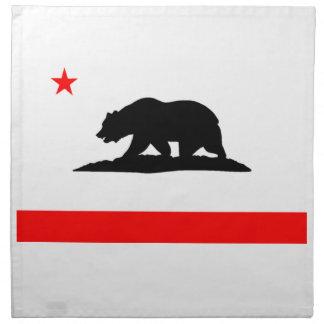 Flag of California Napkin