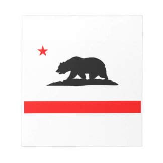 Flag of California Notepad