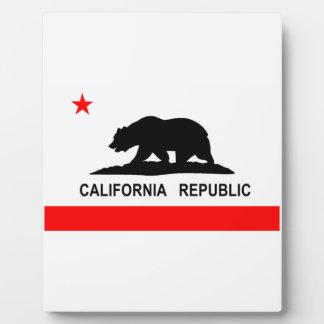 Flag of California Plaque