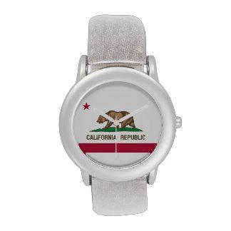 Flag of California Republic Wristwatch