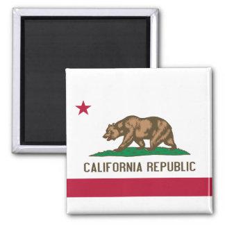Flag of California Square Magnet