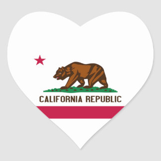 Flag of California Stickers