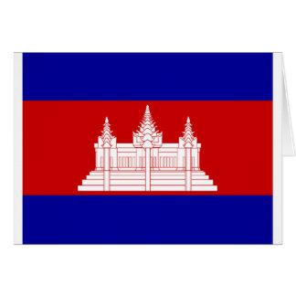 flag of cambodia card