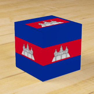 Flag of Cambodia Favour Box