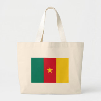 Flag of Cameroon Jumbo Tote Bag