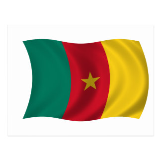 Flag of Cameroon Postcard