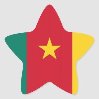 Flag of Cameroon Sticker