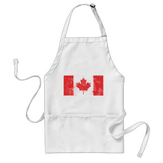 Flag of Canada Aprons