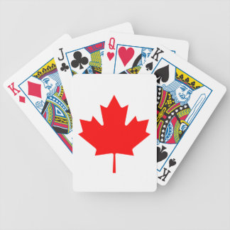 Flag of Canada Bicycle Playing Cards