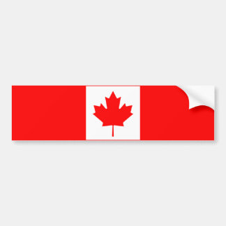 Flag of Canada Bumper Stickers