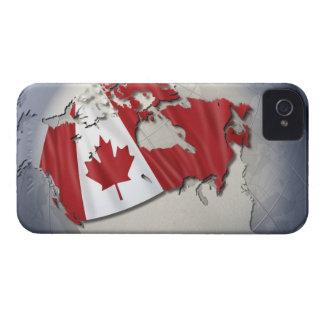 Flag of Canada Case-Mate iPhone 4 Case