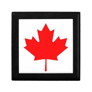 Flag of Canada Trinket Box