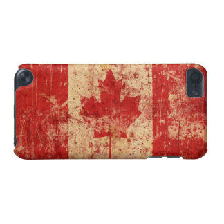 Flag of Canada Grunge: iPod touch 5th Generation iPod Touch 5G Cases