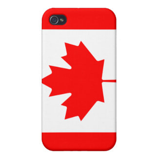 Flag Of Canada iPhone 4/4S Covers