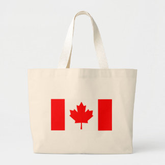 Flag of Canada Large Tote Bag