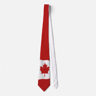 Flag Of Canada  l'Unifolié Tie