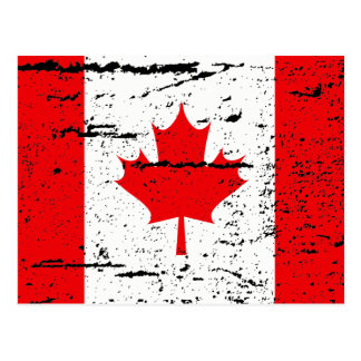 FLAG OF CANADA POSTCARD
