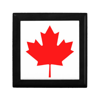 Flag of Canada Small Square Gift Box