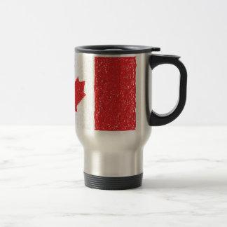 flag of canada travel mug