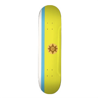 Flag of Canarian Nationalism Skateboard Deck