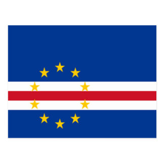 Flag of Cape Verde Postcard