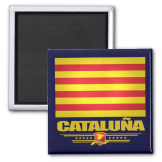 Flag of Cataluna (Catalonia) Magnet
