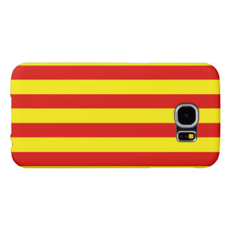 Flag of Catalunya Samsung Galaxy S6 Cases