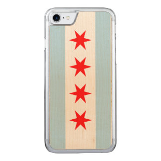 Flag of Chicago Carved iPhone 8/7 Case