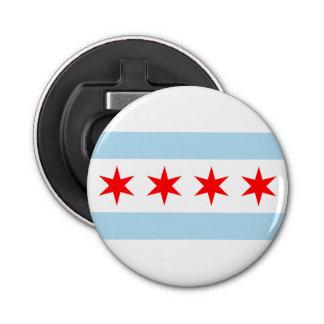 Flag of Chicago, Illinois Bottle Opener