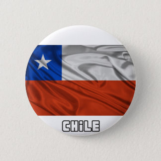Flag of Chile 6 Cm Round Badge
