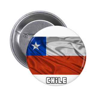Flag of Chile 6 Cm Round Badge